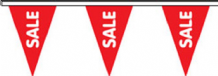 Sale Superior Bunting 10m (32') Long With 24 Flags